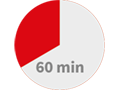 60 minutes red